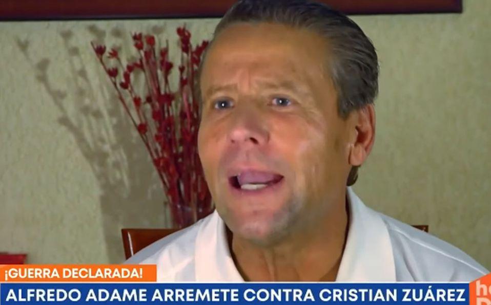 Alfredo Adame y Cristian Zuárez, ex de Laura Bozzo, se retan a golpes