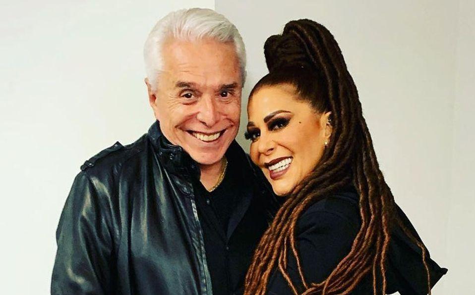 Alejandra y Enrique Guzmán desataron polémica por este video (Instagram).
