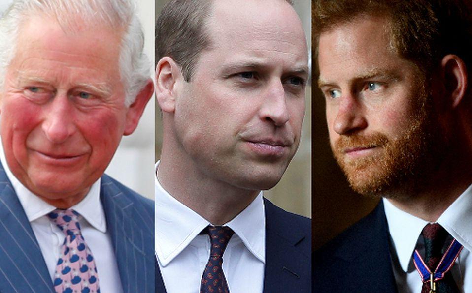 Herederos al trono de la realeza británica