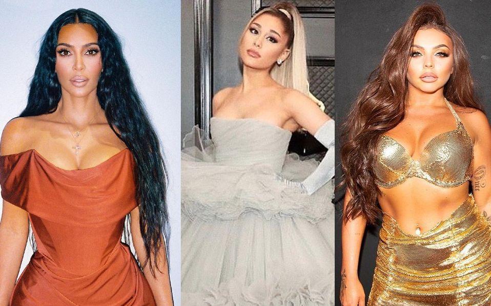 Kim Kardashian, Ariana Grande, Jesy Nelson