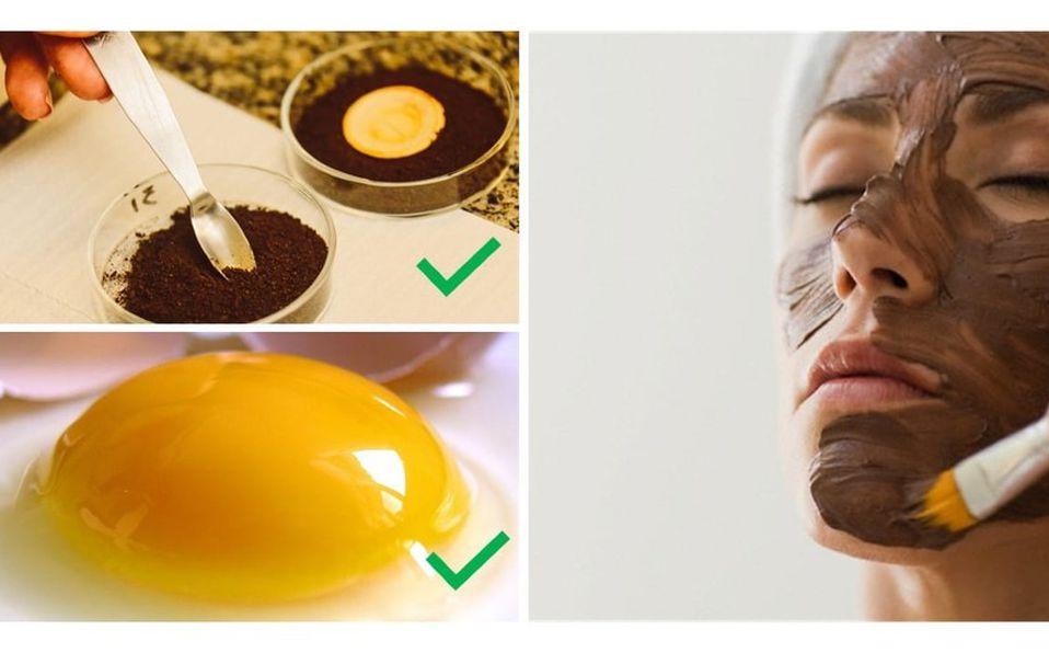 Limpia tu cutis con esta mascarilla de huevo con café