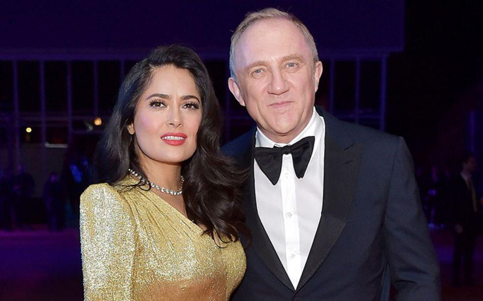 Salma Hayek: Su lujosa boda y vestido de novia