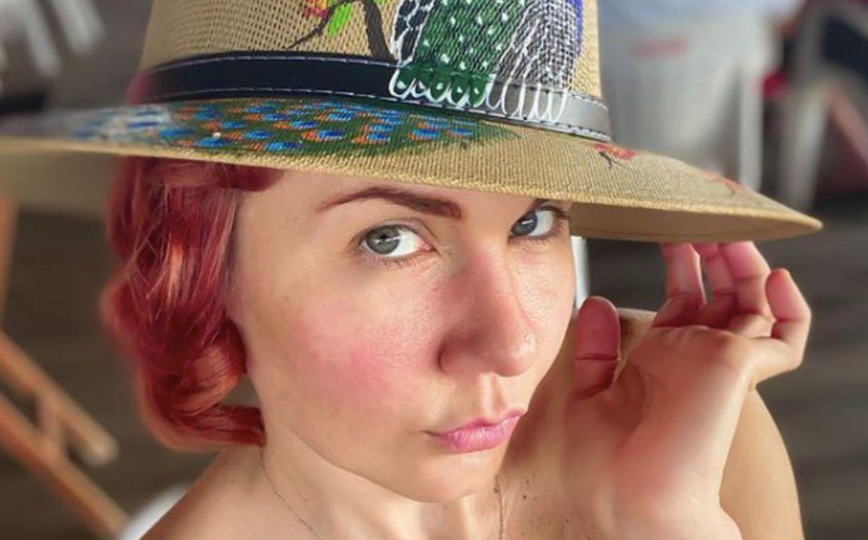 Michelle Vieth luce elegante look con escote