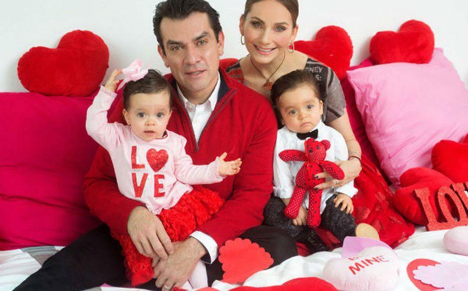 Máxima y León, los hijos de Jorge Salinas y Elizabeth Álvarez ya crecieron y son hermosos