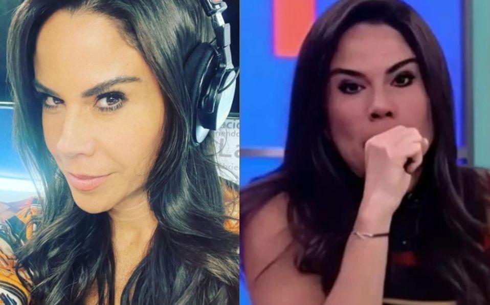 Paola Rojas estornuda en vivo durante programa y ofrece disculpas