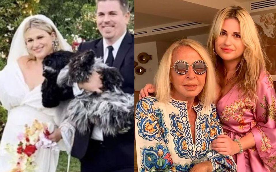 Laura Bozzo no pudo acudir a la boda de su hija (Instagram).