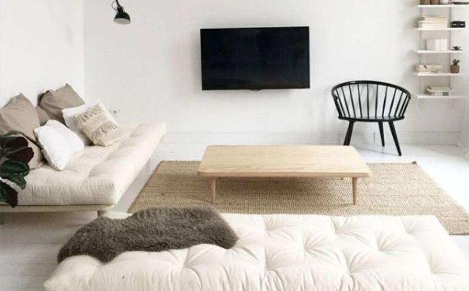 Decoración minimalista para casas pequeñas