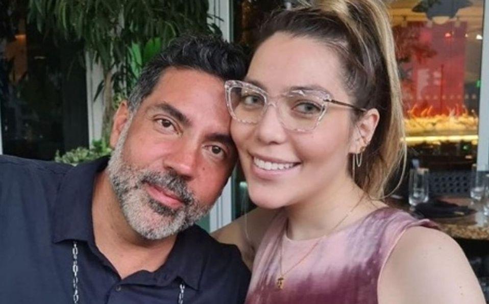 Frida Sofía es muy unida con su padre (Instagram).