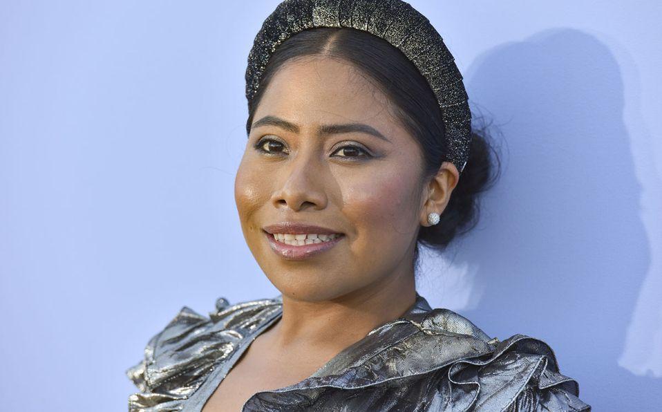 Yalitza Aparicio lució con orgullo la prenda (Getty).