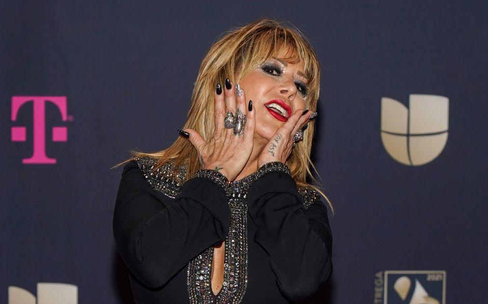 Alejandra Guzmán muestra su abdomen plano a sus 53 años de edad