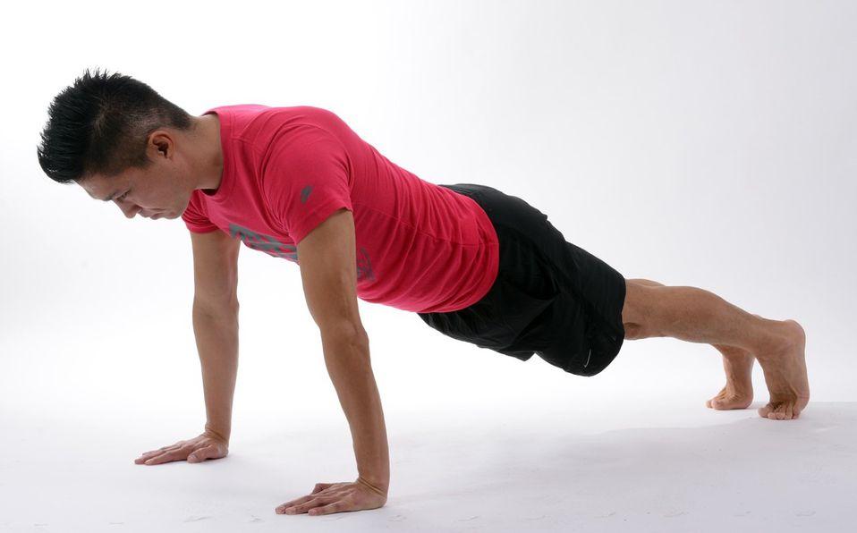 Rutina de plancha para marcar abdomen fácil