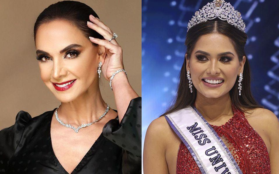 Miss Universo 2021. Error de Lupita Jones al felicitar a Andrea Meza