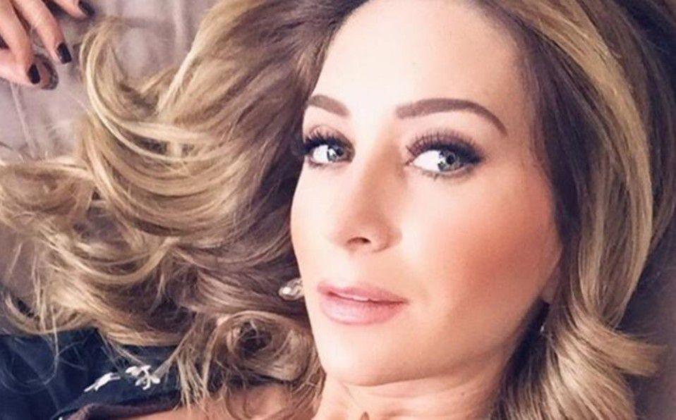 Geraldine Bazán posa sin sostén a sus 37 años de edad