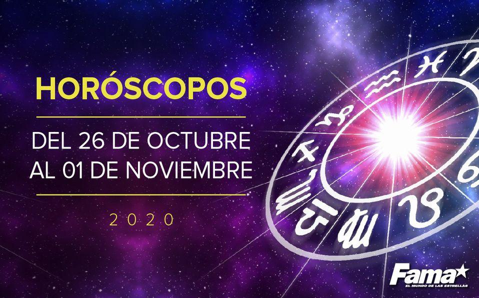 Horóscopo de hoy: Semana del 26 de octubre al 02 de noviembre de 2020