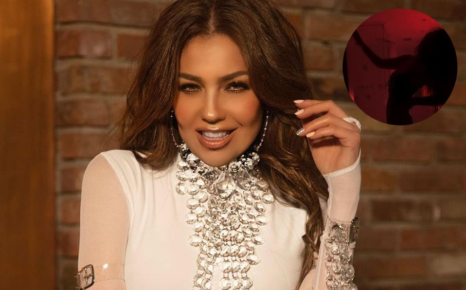 Thalía causó controversia con este TikTok (Instagram).