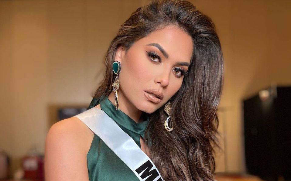 Andrea Meza representa a México en Miss Universo 2021 (Instagram).