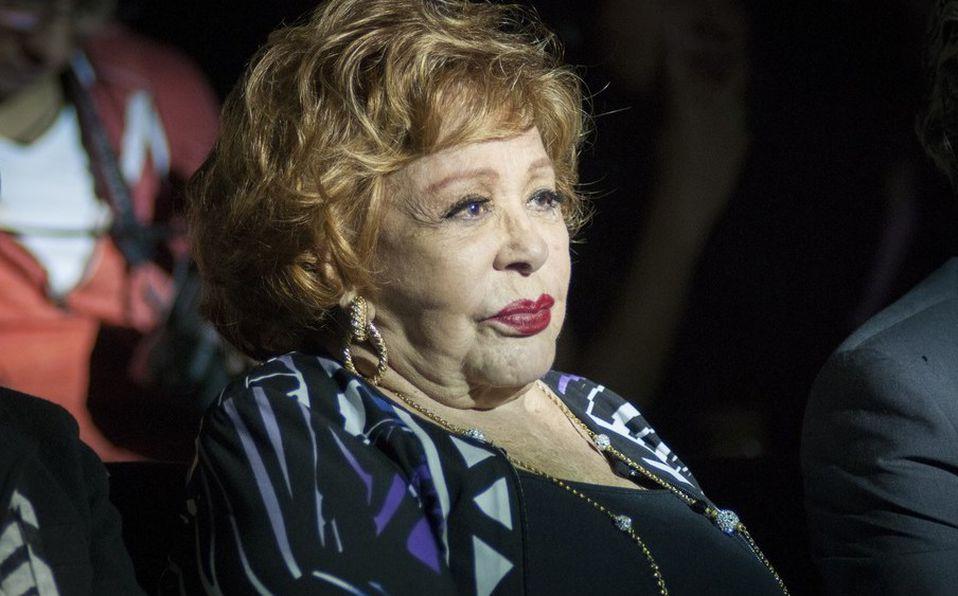 Silvia Pinal dio a conocer su situación con Televisa  (Cuartoscuro).
