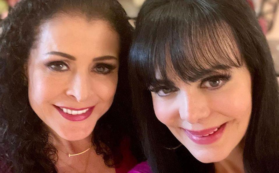 Maribel Guardia y Lourdes Munguia son amigas desde hace más de 40 años (Instagram).